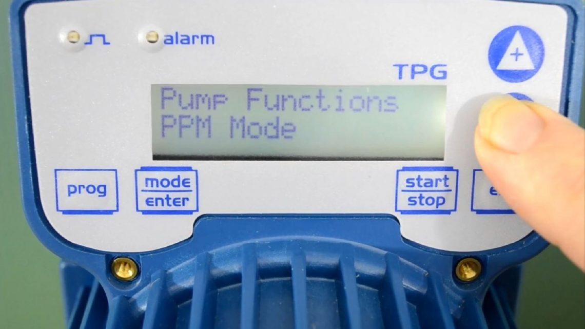 Seko tpg603 - дозировочный насос для фильтрации и производства очищенной питьевой воды